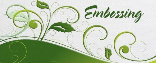 Embossing & Foil Stamping