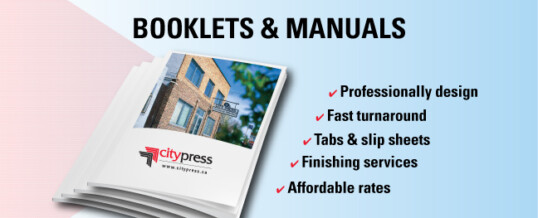 Manual and Booklet Printing